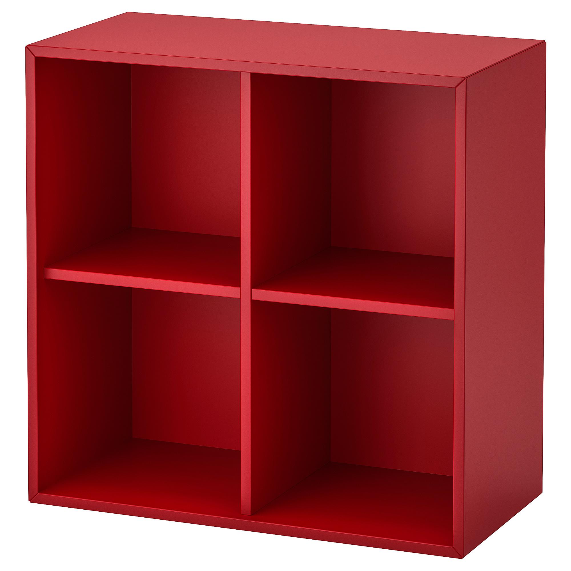 收納櫃 /4隔層, , 紅色, 另有其他顏色可選擇