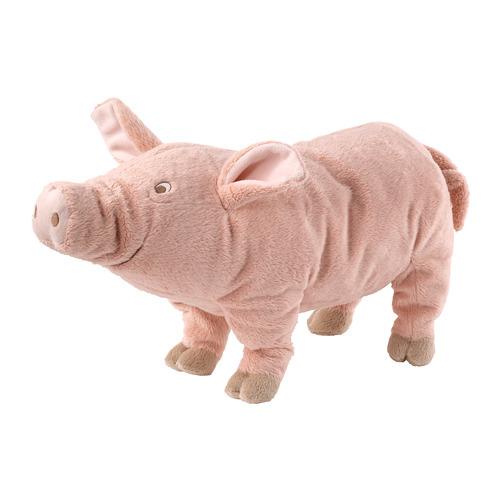 填充玩具, 豬/粉紅色,