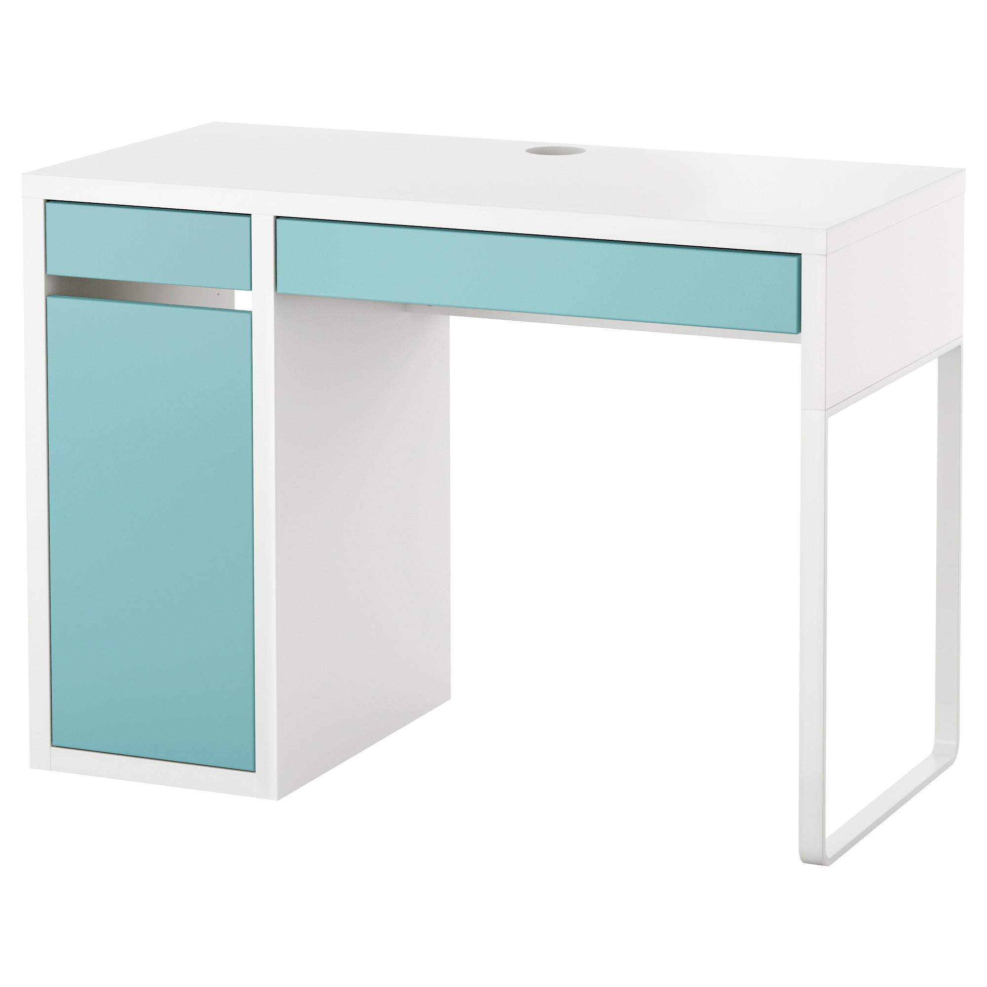 書桌/工作桌, , 白色/淺土耳其藍, 另有其他顏色