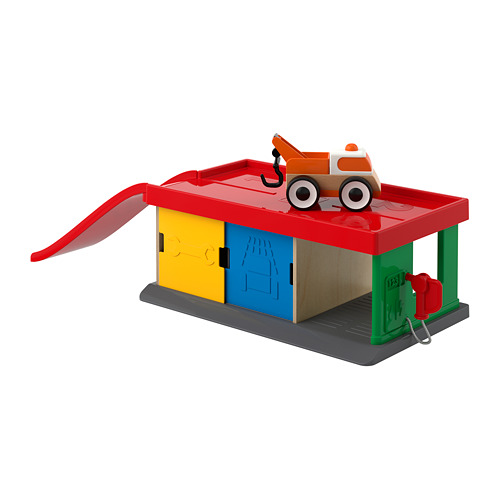玩具車庫/拖車,