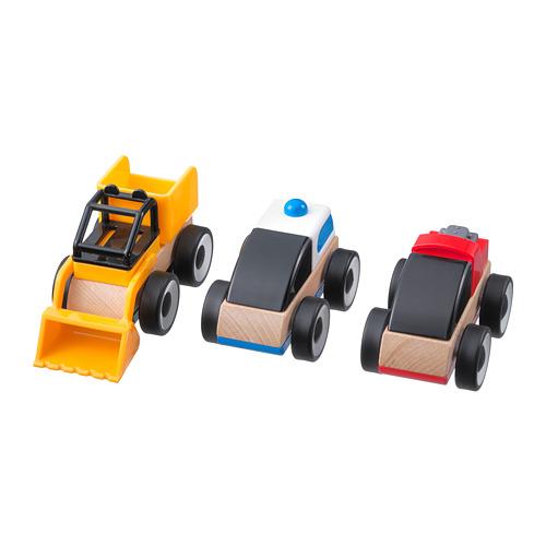 玩具車/ 3件裝, , 多種顏色