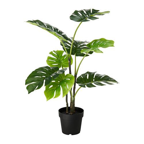 人造盆栽, 室內/戶外用 龜背芋,