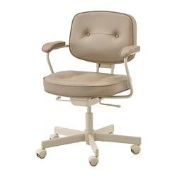 ALEFJÄLL 辦公椅, grann 米色-IKEA