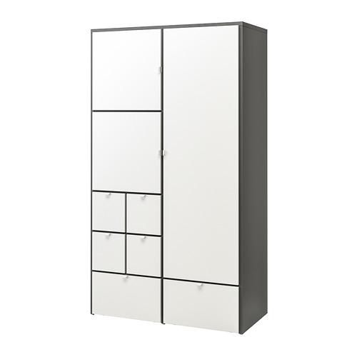 衣櫃/衣櫥, , 灰色/白色