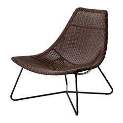 RÅDVIKEN 扶手椅, 深棕色/黑色-IKEA