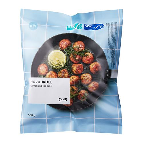 優惠期間:2021/9/1-9/30,鮭魚鱈魚丸, asc/msc 冷凍,