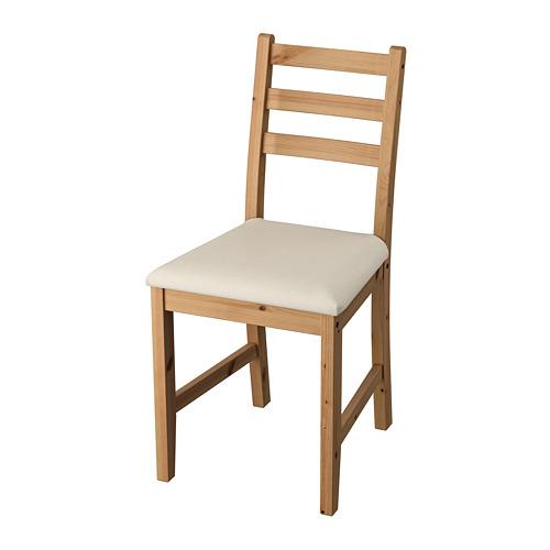餐椅, , 淺仿古染色/米色, 另有黑棕色/米色