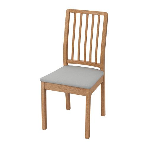 餐椅, , 橡木/orrsta 淺灰色, 另有其他顏色