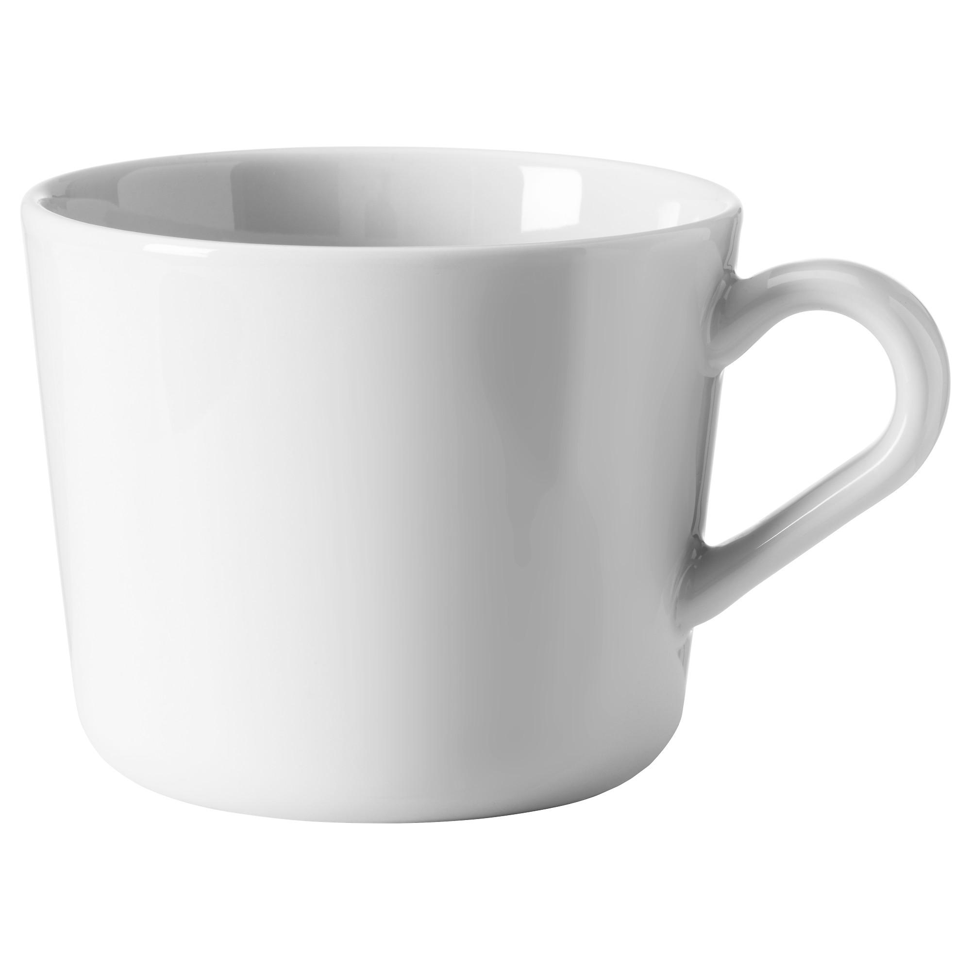 馬克杯, , 白色, 7 公分, 另有8  公分可選擇