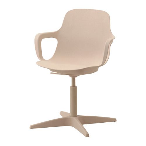 旋轉椅, , 白色/米色, 另有碳黑色
