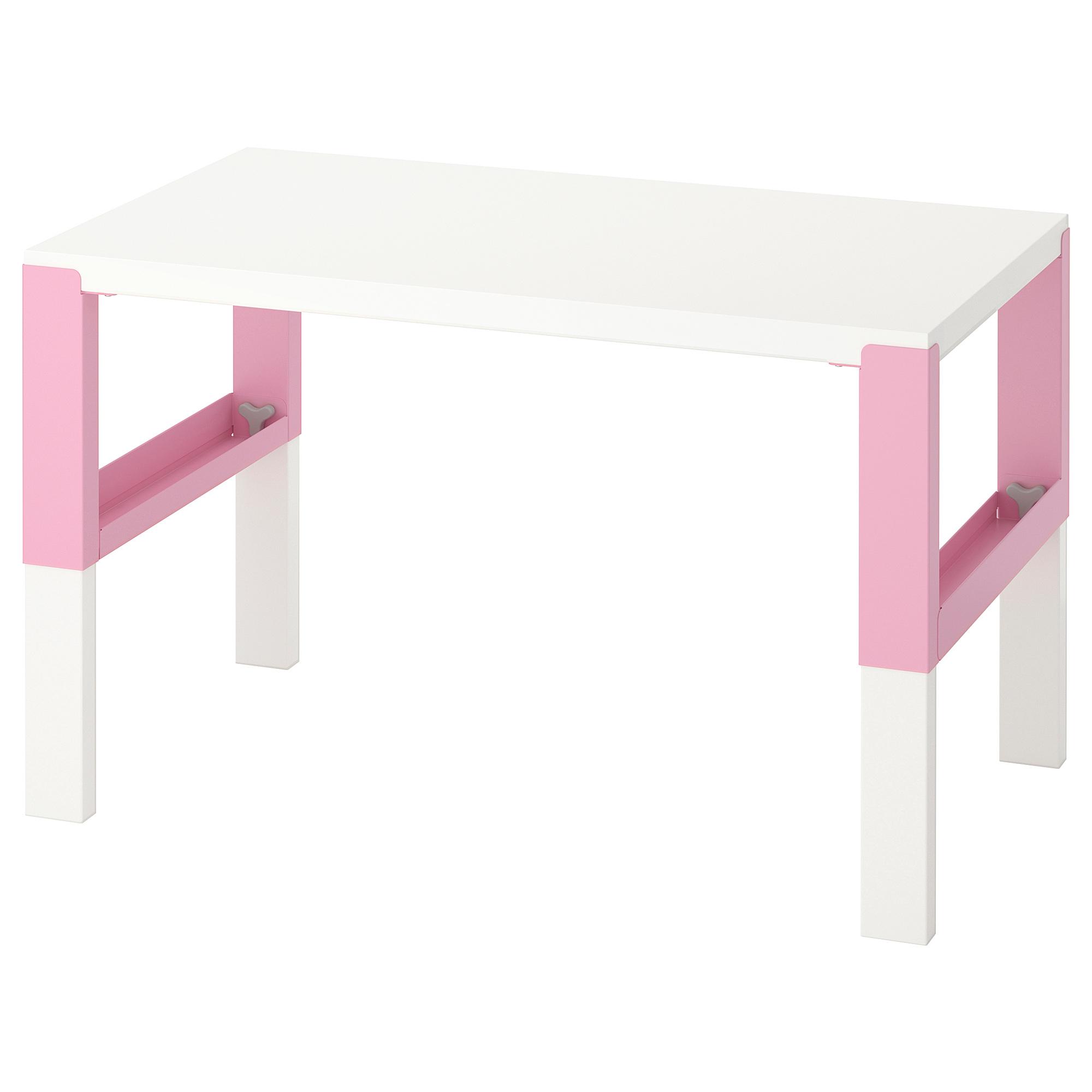 書桌/工作桌, , 白色/粉紅色, 另有其他顏色可選擇