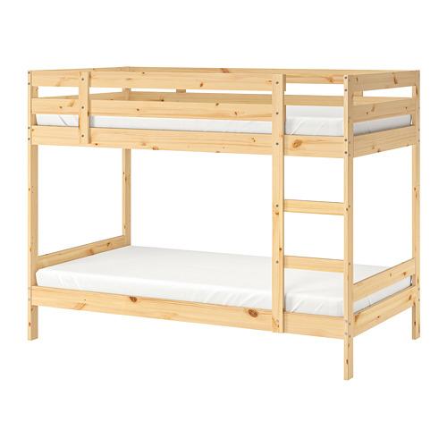 上下舖床框, , 松木