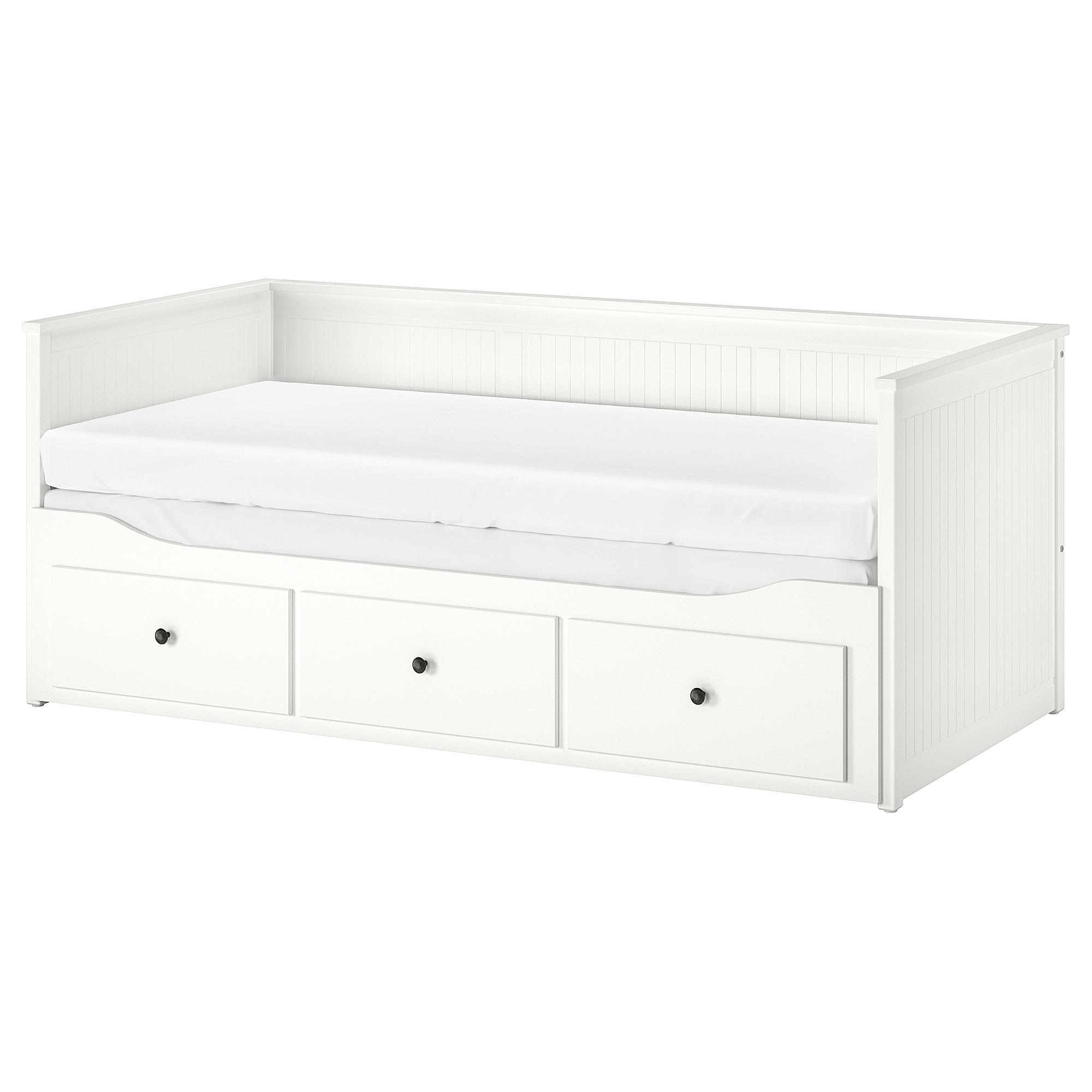 坐臥兩用床框 /3抽, , 白色