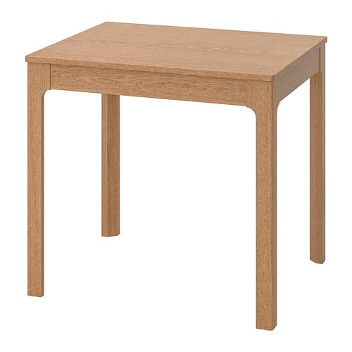 延伸桌, , 橡木, 80/120x70 公分, 另有其他款式