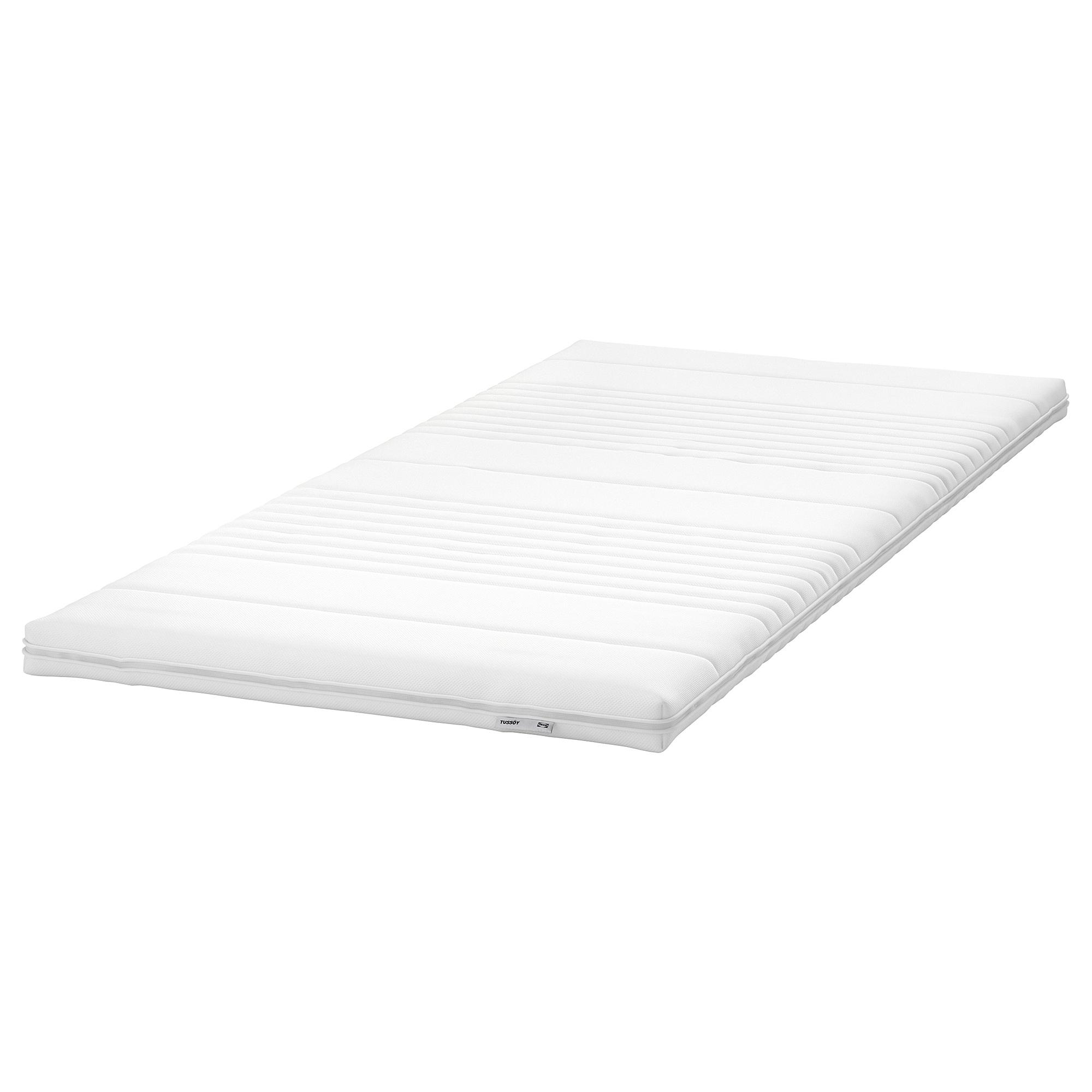舒眠薄墊, , 白色, 90x200公分, 另有其他尺寸可選擇