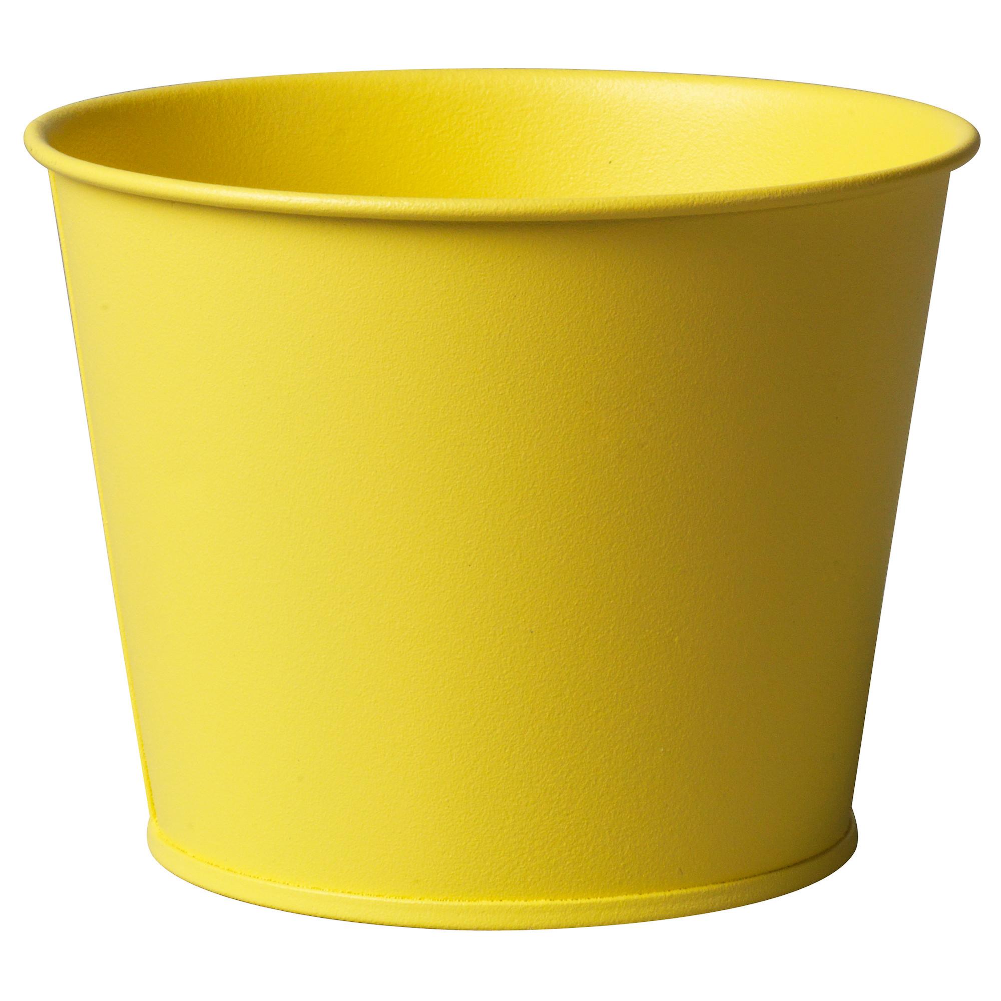 花盆, , 黃色, 高度9公分, 另有其他顏色可選擇