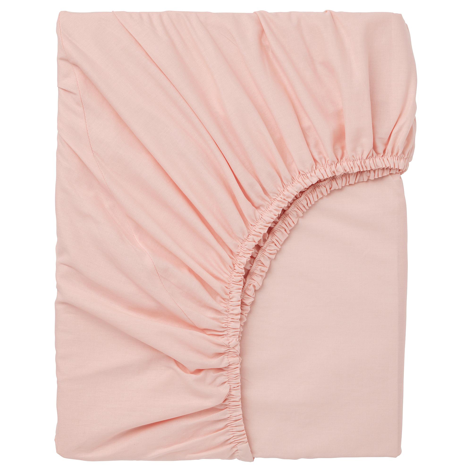 床包, , 150x200 公分, 淺粉紅色, 另有其他顏色可選擇