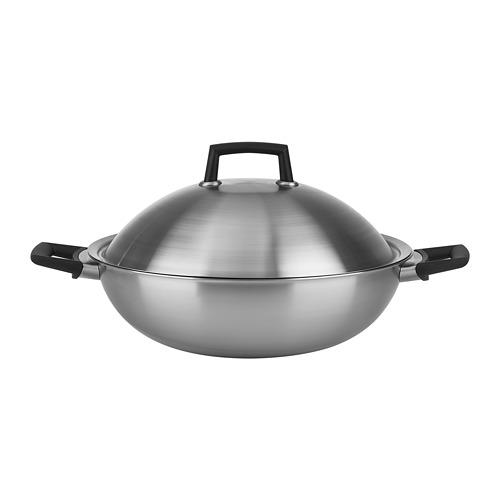 炒鍋附蓋, , 不鏽鋼, 直徑32公分