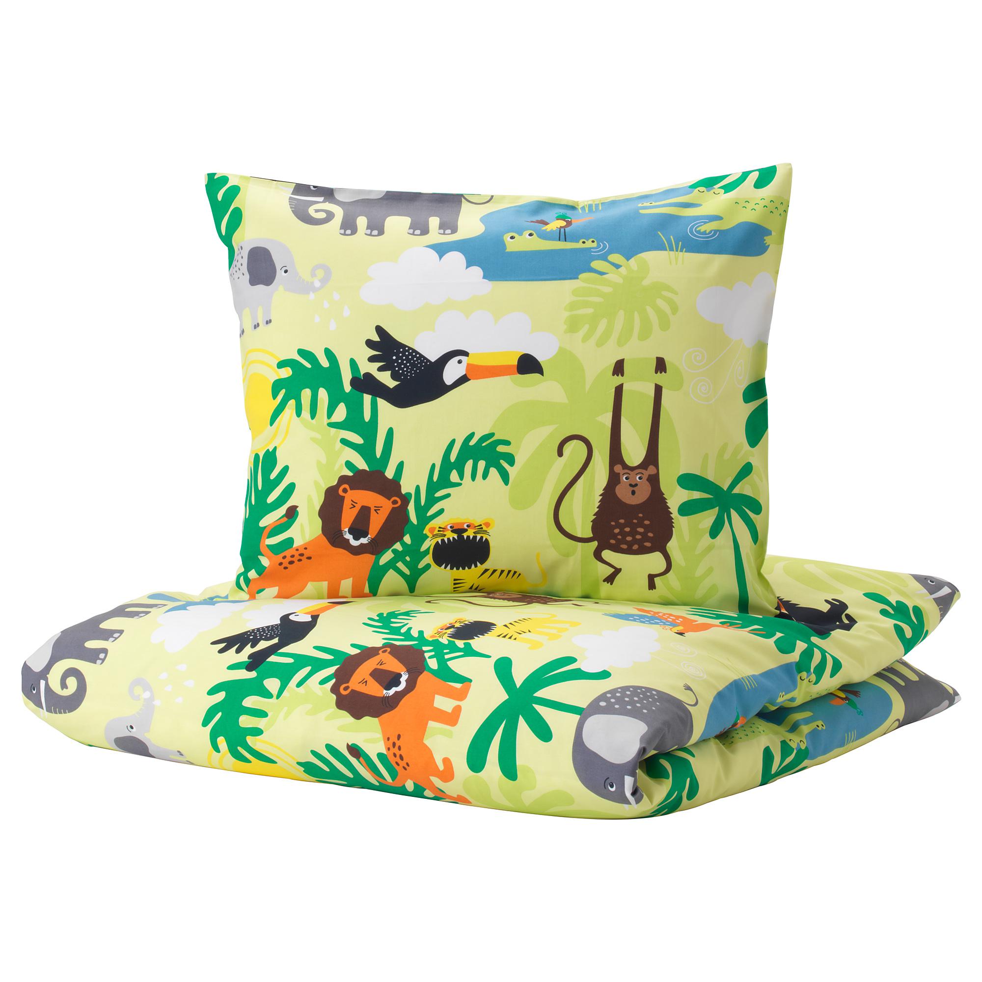 被套/枕頭套, , 動物 / 綠色