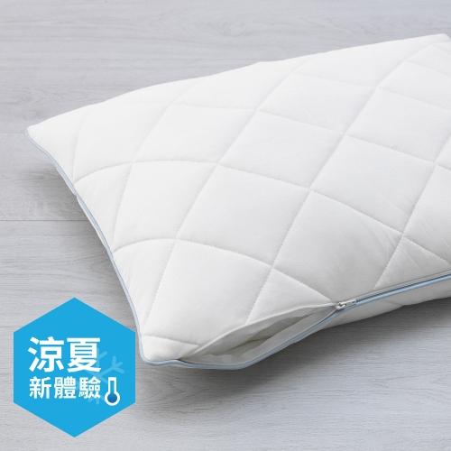 枕頭保潔套, , 白色
