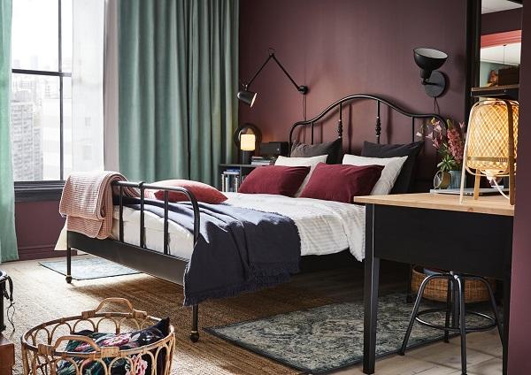 雙人床,床架,床框